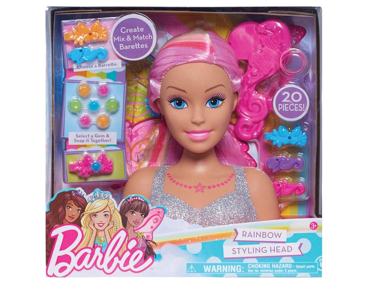 2.Styling Doll Barbie Rainbow