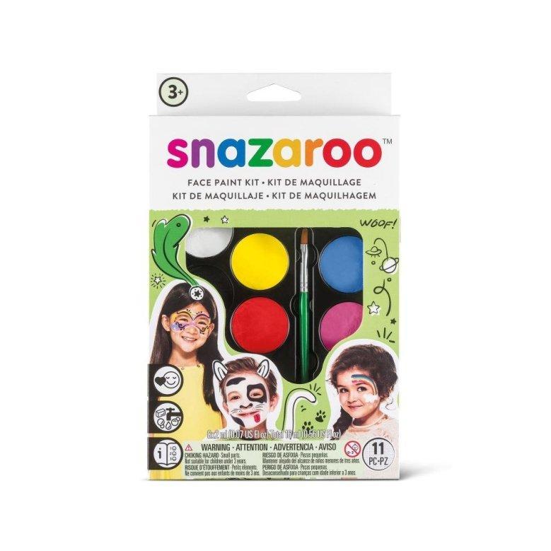 3.Face Paint Snazaroo Rainbow Face Paint