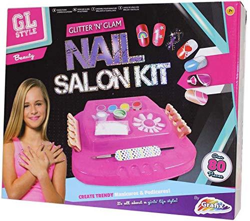 5 Nail Art GL Glitter and Glam Nail Art Set