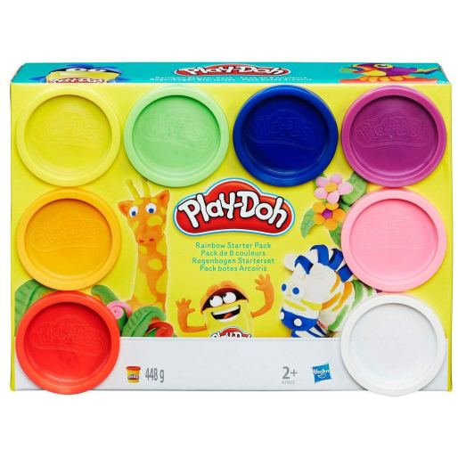 1. Clay and Dough Play-Dough Rainbow Starter Kit