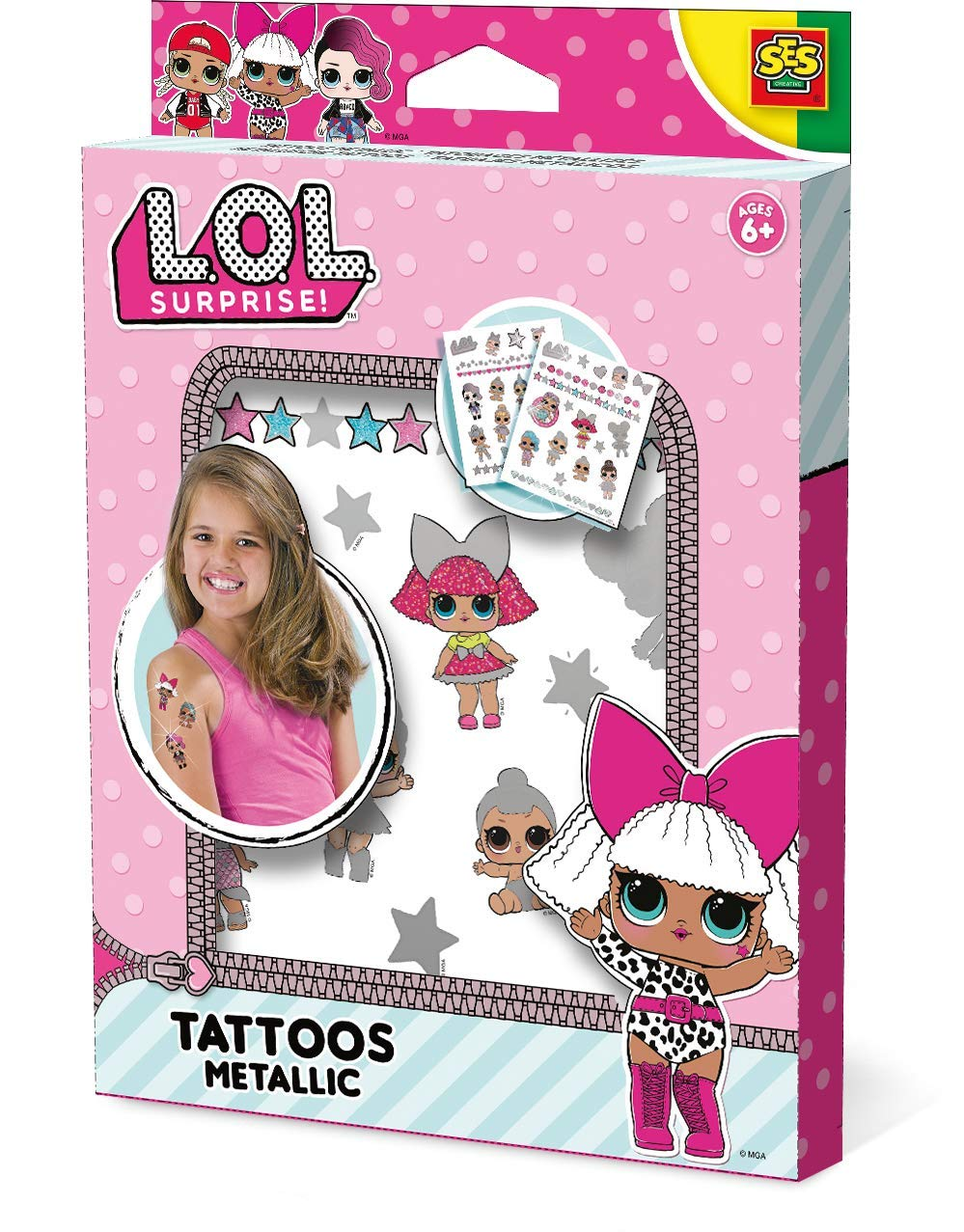 Fairy Princess Glitter Temporary Tattoos Fun Express