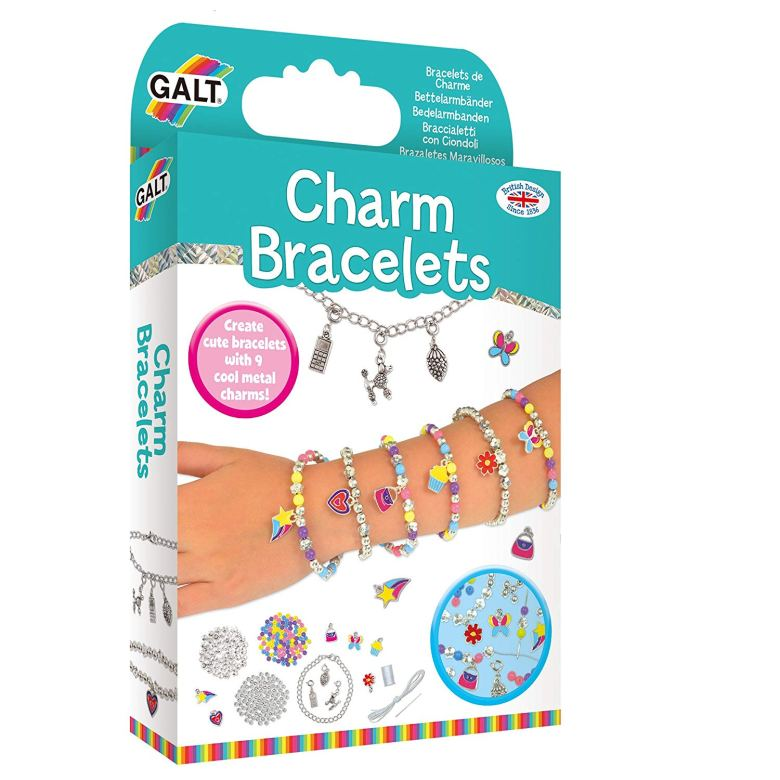 4.Jewellery Making Kit Galt Charm Bracelet