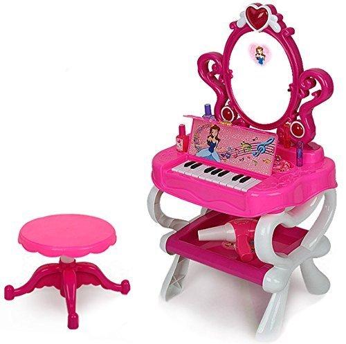 4.Vanity Dressing Table deAO Dressing Vanity Table & Piano Play Set