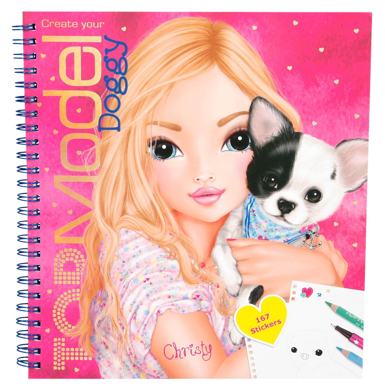 1. Makeup Colouring Book Top Model