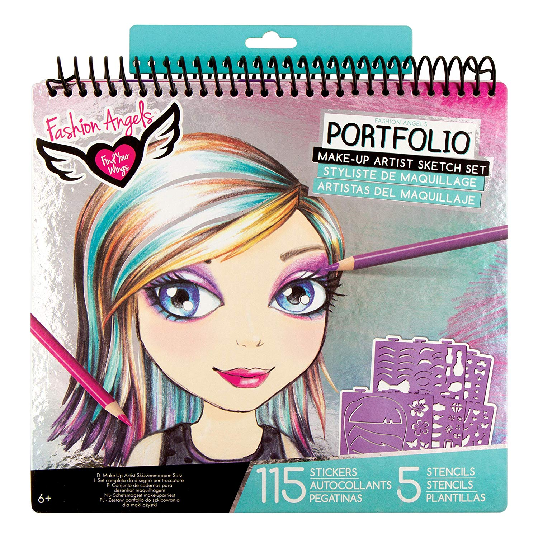 Top Girls Makeup Colouring Books Girls Makeup And Creative Play Kits